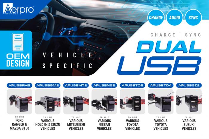 Featured item - Aerpro Vehicle Specific USBs