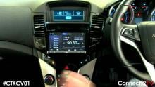 Embedded thumbnail for Holden Cruze Connects 2 video