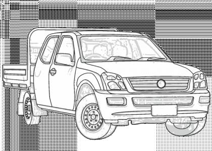 Holden Rodeo 2003-2008 RA (Dual Cab/Crew Cab/Space Cab